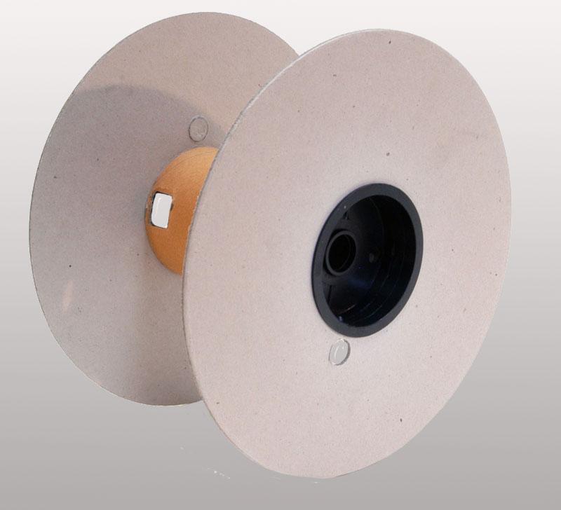 Flange e tubo in cartone, capsule in polistirolo antiurto.Portata fino a Kg 30.Specifici per FASTON