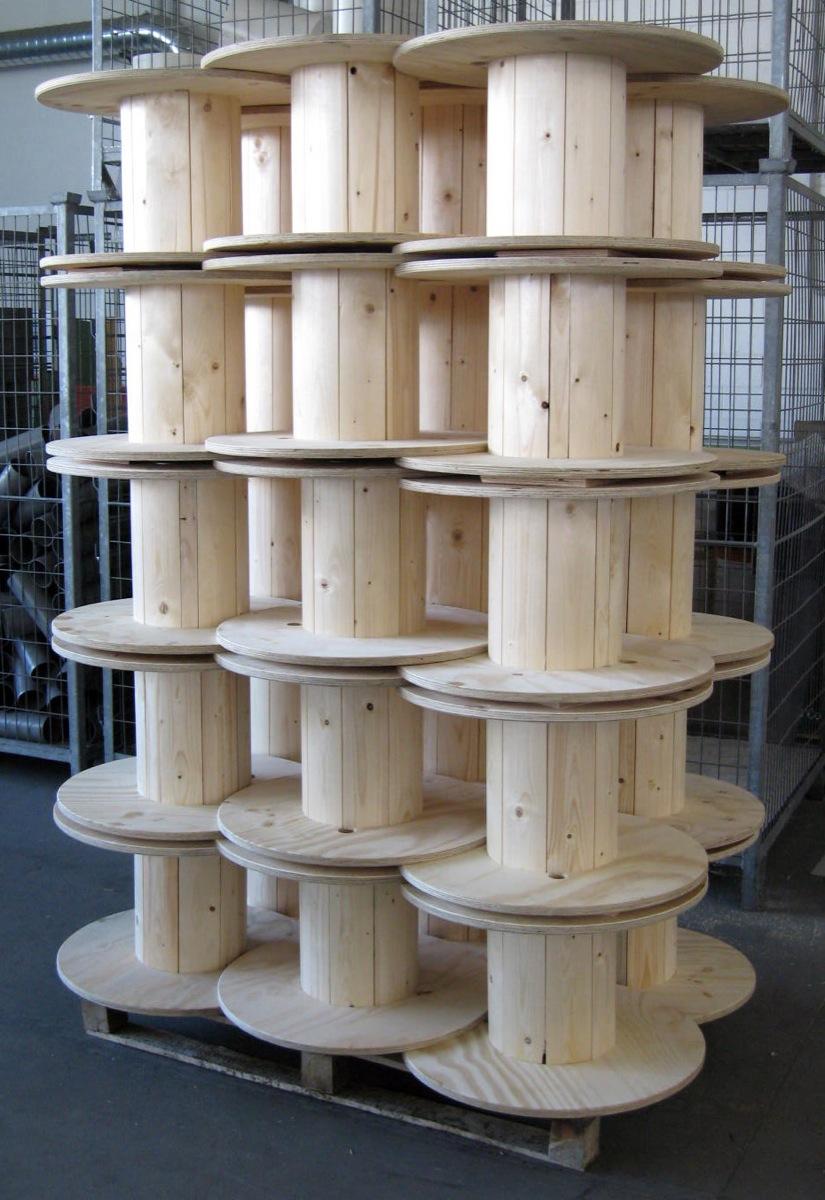 Populaire tipologia imballo per bobine di legno - Pozzi Napoleone  CQ64